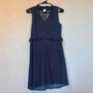 H&M Blue and White Size 4 Dress
